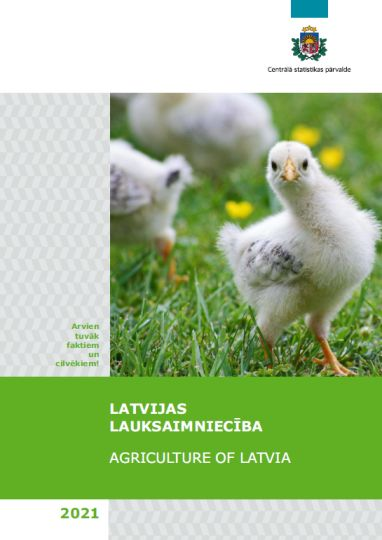 Publikācijas vāka attēls - putna cālis pļavā